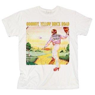 ELTON JOHN Goodbye Yellow Brick Road Album, Tシャツ