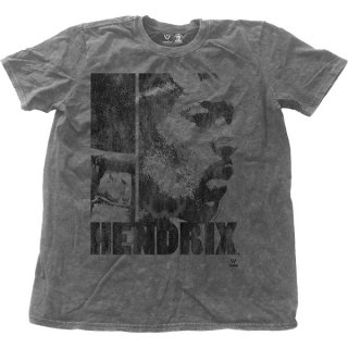 JIMI HENDRIX Let Me Live with Snow Wash Finishing, Tシャツ
