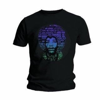 JIMI HENDRIX Afro Speech, Tシャツ