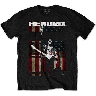 JIMI HENDRIX Peace Flag, Tシャツ