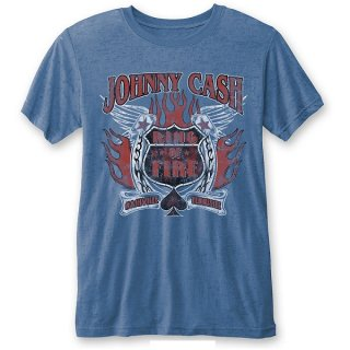 JOHNNY CASH Ring Of Fire (Burn Out), Tシャツ