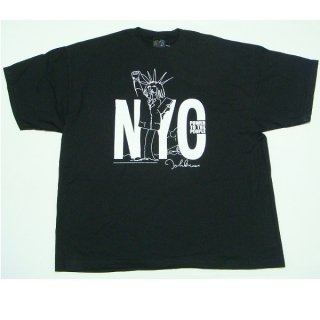 JOHN LENNON Nyc Power To The People Blk, Tシャツ