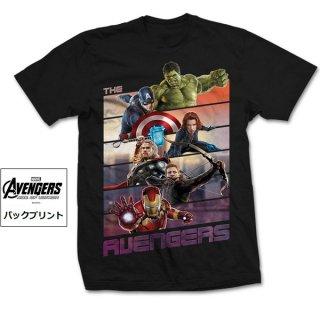 MARVEL COMICS Avengers Bars, Tシャツ