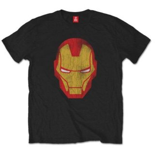MARVEL COMICS Iron Man Distressed, Tシャツ