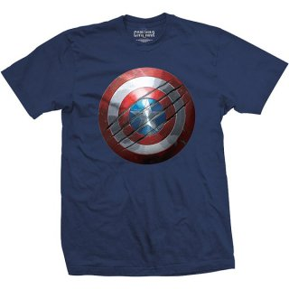 MARVEL COMICS Captain America Civil War Clawed Shield, Tシャツ