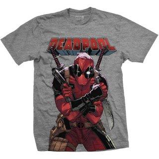 MARVEL COMICS Deadpool Big Print, Tシャツ