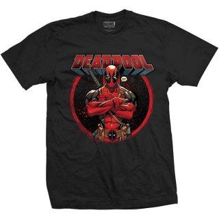 MARVEL COMICS Deadpool Crossed Arms, Tシャツ