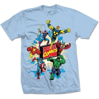 MARVEL COMICS Marvel Montage 4, Tシャツ