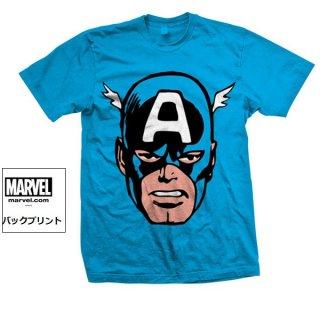 MARVEL COMICS Captain America Big Head, Tシャツ