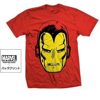 MARVEL COMICS Iron Man Big Head, Tシャツ