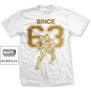 MARVEL COMICS Iron Man since 63, Tシャツ