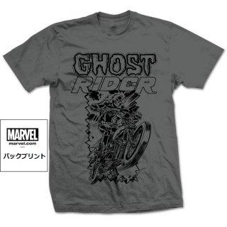 MARVEL COMICS Ghost Rider Simple, Tシャツ