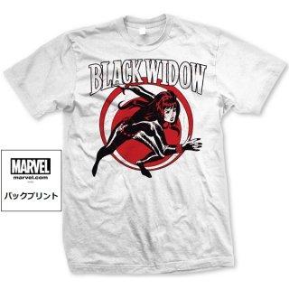 MARVEL COMICS Black Widow Simple, Tシャツ