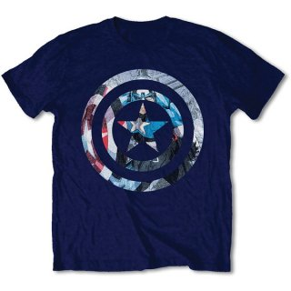 MARVEL COMICS Captain America Knock-out, Tシャツ