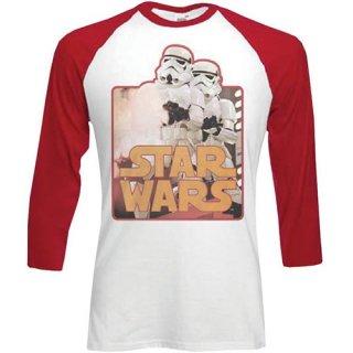 STAR WARS Storm Troopers, ラグラン七分袖シャツ