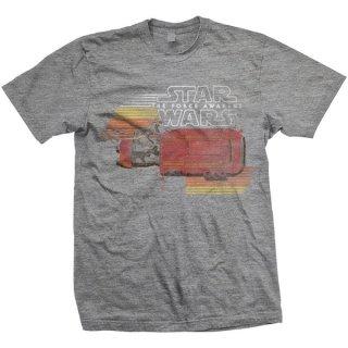 STAR WARS Rey Speeder Retro, Tシャツ