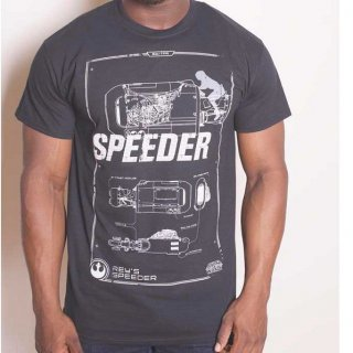 STAR WARS Rey Speeder Retro 2, Tシャツ