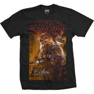 STAR WARS Episode VII Chewbacca Composition, Tシャツ