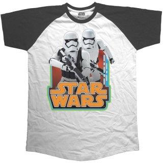 STAR WARS Classic Troopers & Logo, ラグランTシャツ