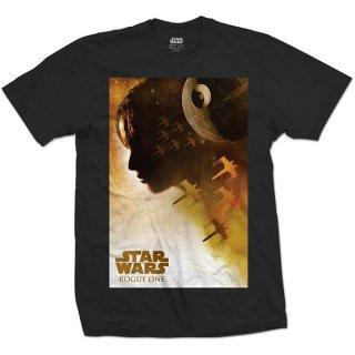 STAR WARS Rogue One Jyn Silhouette, Tシャツ