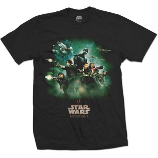 STAR WARS Rogue One Rebels Poster, Tシャツ