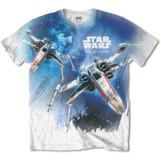STAR WARS Rogue One X-Wing with Sublimation Printing, Tシャツ