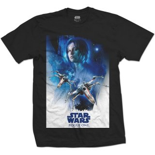 STAR WARS Rogue One Jyn X-Wing 01, Tシャツ