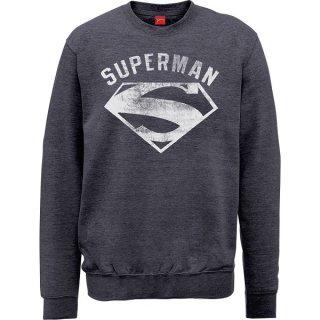 DC COMICS Superman Logo Spray, スウェットシャツ