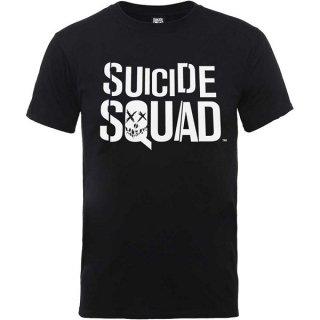 DC COMICS Suicide Squad Logo Blk, Tシャツ