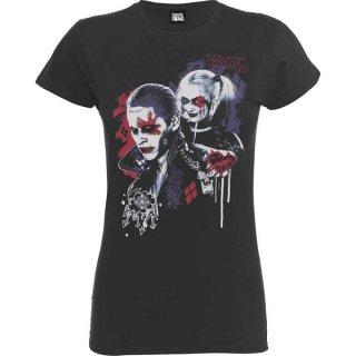 DC COMICS Suicide Squad Harley's Puddin, レディースTシャツ