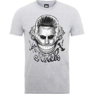 DC COMICS Suicide Squad Joker Smile, Tシャツ