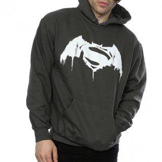 DC COMICS Batman v Superman Beaten Logo, パーカー