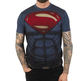 DC COMICS Batman v Superman Supersuit with Sublimation Printing, Tシャツ