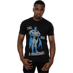 DC COMICS Batman Tall Dark & Handsome (XX-Large), Tシャツ