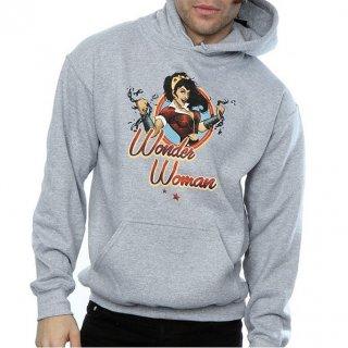 DC COMICS Bombshells Wonder Woman Badge, パーカー