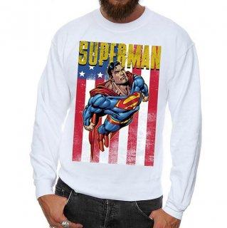 DC COMICS Superman Flight, スウェットシャツ