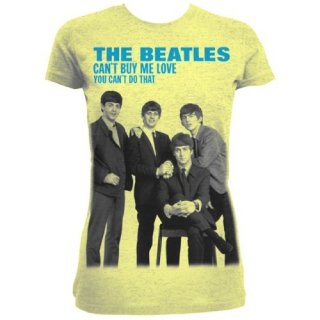 THE BEATLES You can't buy me love/yellow, レディースTシャツ
