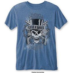 GUNS N' ROSES Faded Skull (Burn Out), Tシャツ