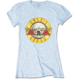 GUNS N' ROSES Classic Bullet Logo (Skinny Fit), レディースTシャツ