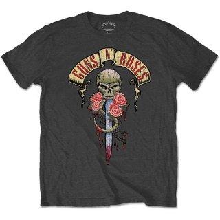 GUNS N' ROSES Dripping Dagger, Tシャツ