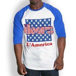 THE DOORS L'America, ラグランロングTシャツ