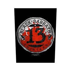 BLACK SABBATH 13 Circular, バックパッチ
