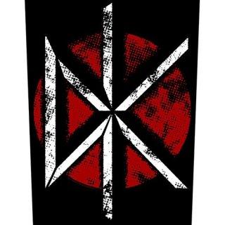 DEAD KENNEDYS Vintage DK Logo, バックパッチ