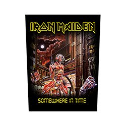 IRON MAIDEN Somewhere In Time 2, バックパッチ