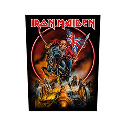 IRON MAIDEN England, バックパッチ