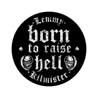 LEMMY Born To Raise Hell, バックパッチ