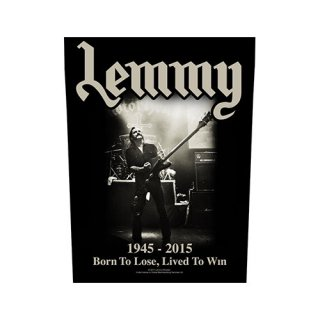 LEMMY Lived To Win, バックパッチ