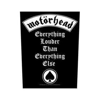 MOTORHEAD Everything Louder, バックパッチ