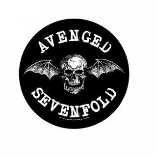 AVENGED SEVENFOLD Death Bat, バックパッチ