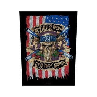 GUNS N' ROSES Flag, バックパッチ